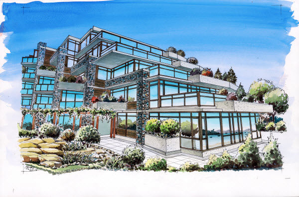 sechelt condos for sale at watermark homes for sale on
