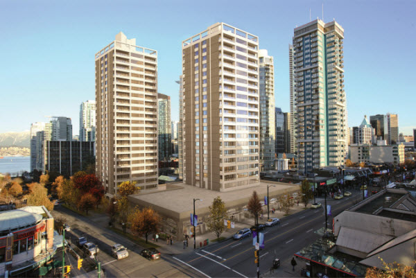New apartments to rent in downtown Vancouver at Pacific ...